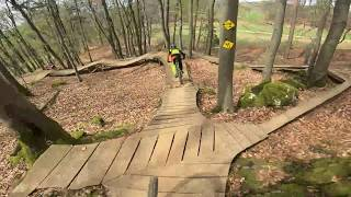 Bikepark Osternohe Raw full run with Dennis Lother!