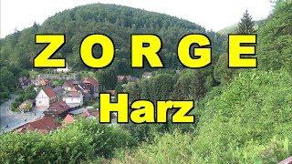 Zorge im Harz * Ursprung des Flusses Zorge * Niedersachsen