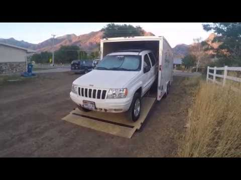 Enclosed Car Trailer (Winch Install)