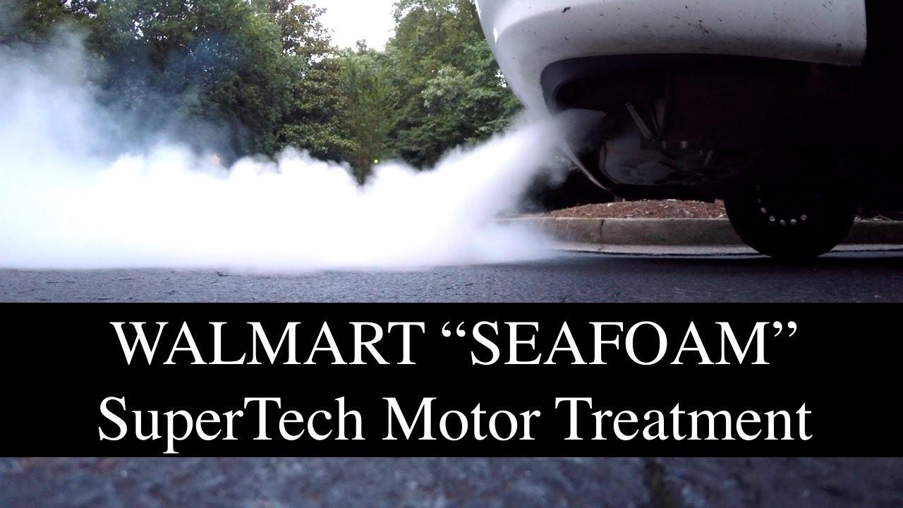 Walmarts supertech motor treatment used like seafoam youtube for What is seafoam motor treatment