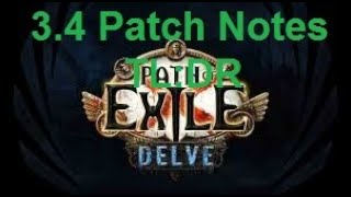 [Path of Exile] TL:DW/R of 3.4 Patch Notes