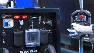 How to Set Up Your Miller Big Blue or Trailblazer Machine