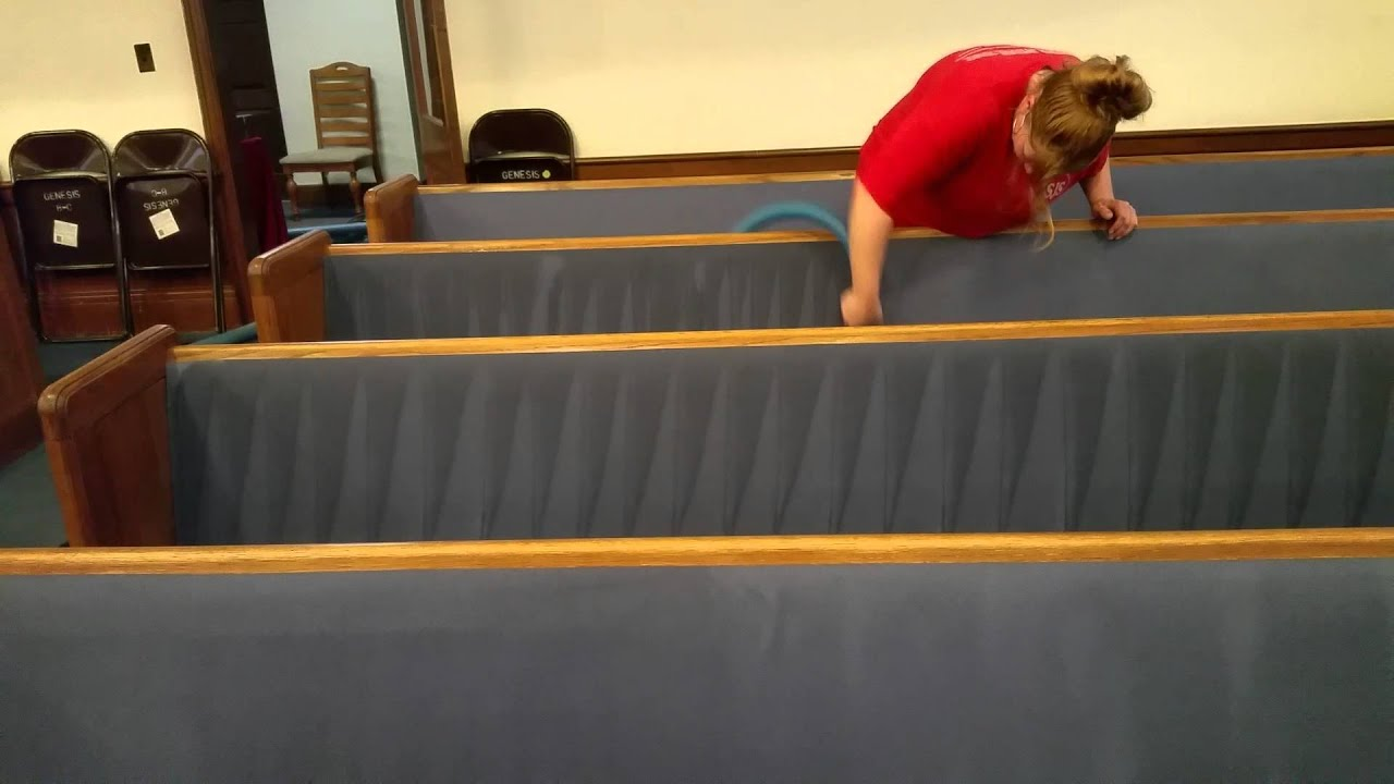 cleaning church pews