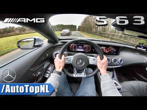 NEW! 2018 Mercedes-AMG S63 Coupe 4Matic+ POV Test Drive By AutoTopNL