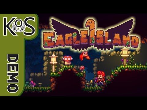 Eagle Island DEMO - Cute Owl!  Metroidvania, Platformer, Roguelike, First Look - Let's Play