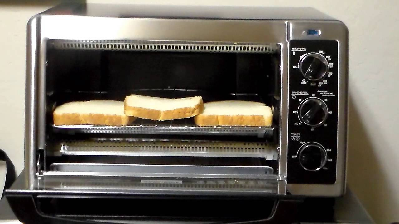 Black Amp Decker 6 Slice Toaster Convection Oven Review