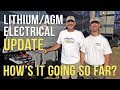 🔌 SYSTEM UPDATE! RV Lithium Battery & Electrical Project — 3 1/2 Months In!⚡️