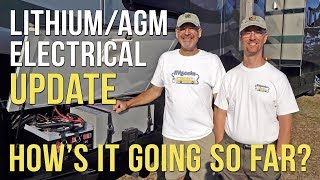 🔌 SYSTEM UPDATE! RV Lithium Battery & Electrical Project — 3 1/2 Months In!⚡�