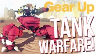 Gear Up F2P Game First Look - Tank Battle & Customization - [GIVEAWAY]