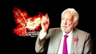 Donald Sutherland reveals some dark secrets