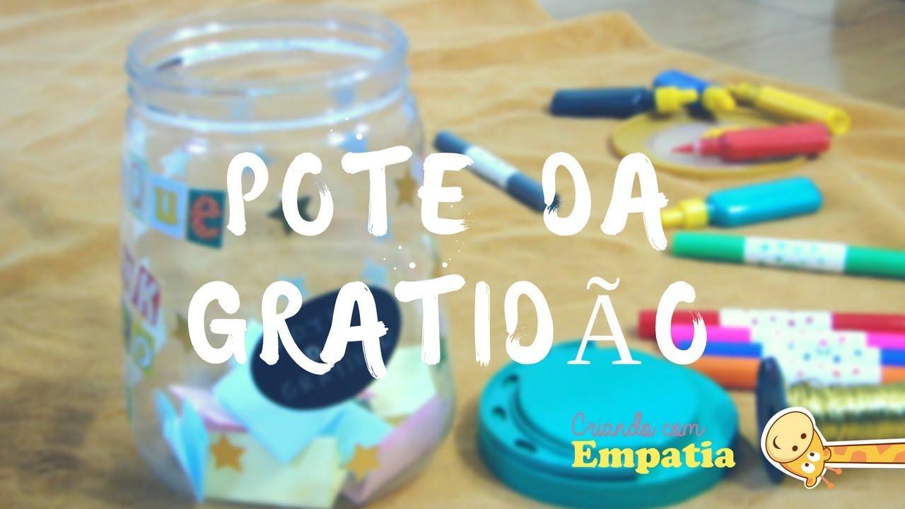 ENSINANDO GRATIDÃO ÀS CRIANÇAS