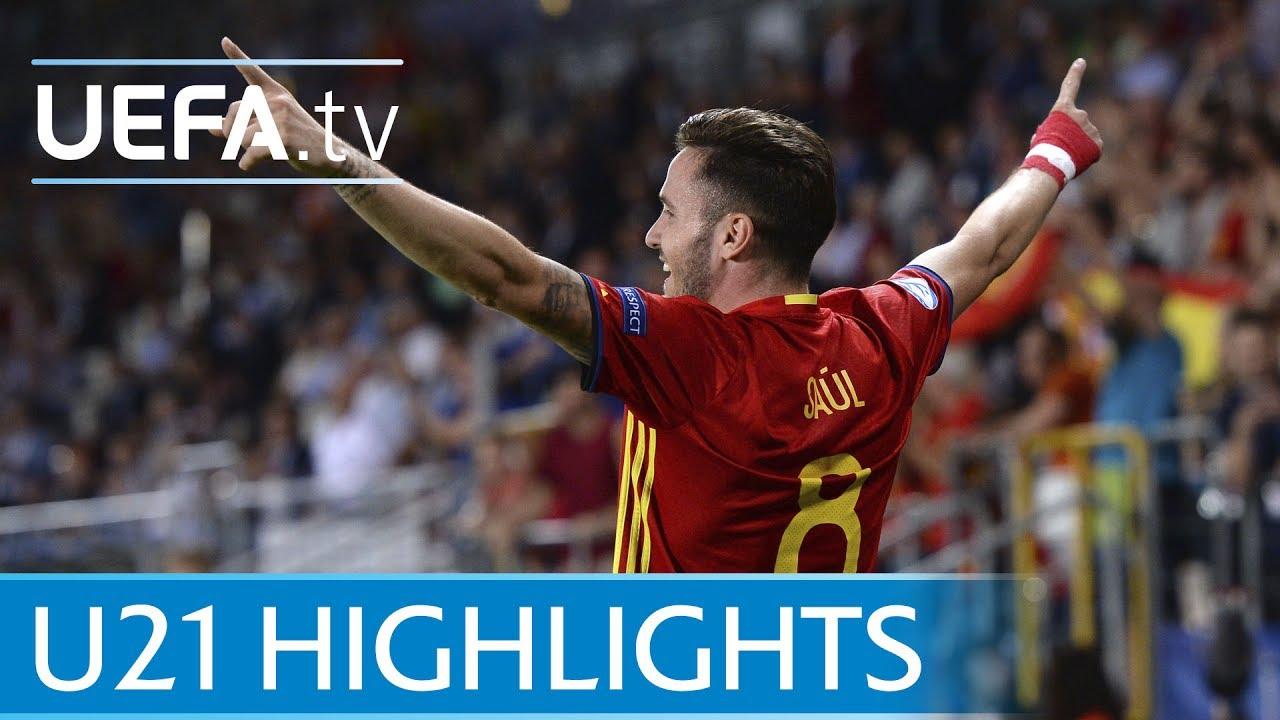 Германия U-21 - Испания U-21 1:0 видео