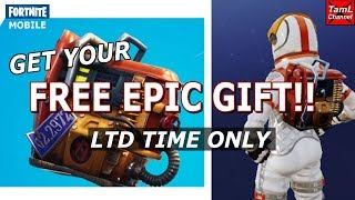 Fortnite Mobile: FREE EPIC GIFT!! (Ltd Time)