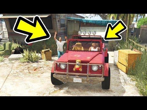 🔴 אתם לא תאמינו למה שקרה כשניסיתי לקחת לטרוור את הרכב ב GTA V! (זה פשוט לא הגיוני!)