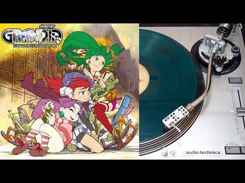Grandia Memorial Soundtrack - vinyl LP collector face A (Wayô Records)