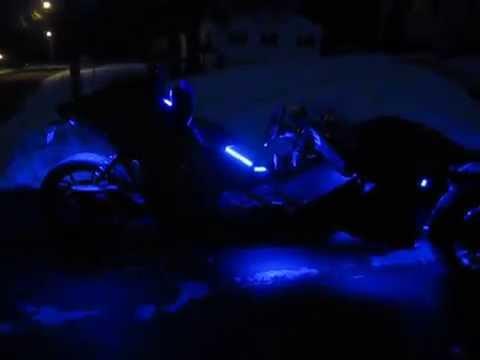 Polaris Slingshot Sl Led Lights On A 2015 Youtube