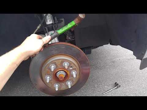 2008-2016 Buick Enclave Brake pad and Rotor replacement.