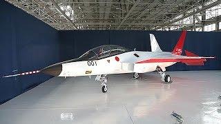 防衛装備庁、国産ステルス機を初公開=次期戦闘機開発技術