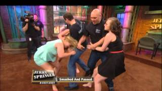 Hair-Ripping Catfight on Springer!!!