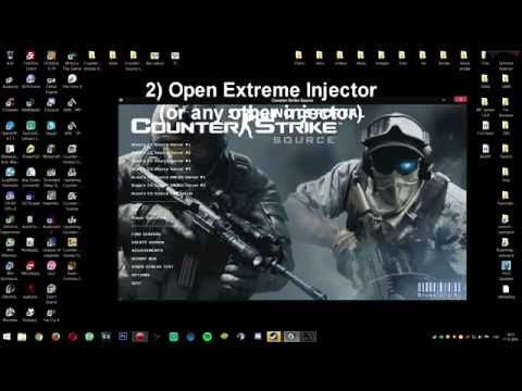 How to inject HVH HACK (EzHook) to Counter-Strike: Source [FREE DOWNLOAD]