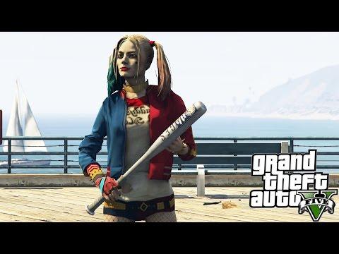 GTA V Harley Quinn (Suicide Squad)