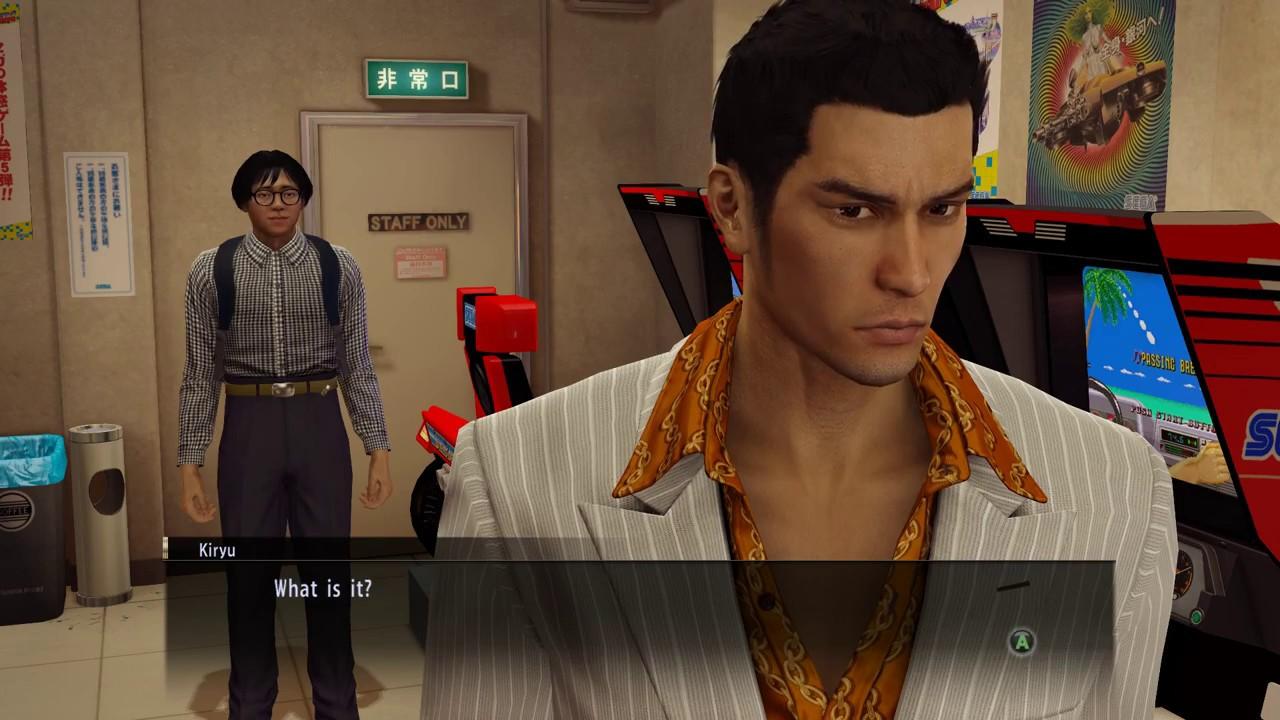 Yakuza 0 PC  Electronics King Challenges Kazuma Kiryu in Racing Game - YouTube