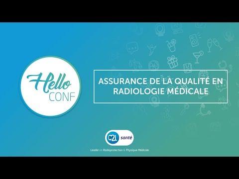 C2i santé : web conférence - Assurance de la qualité en radiologie médicale