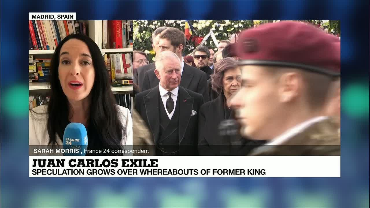 Juan Carlos exile: Speculation grows over whereabouts of former king