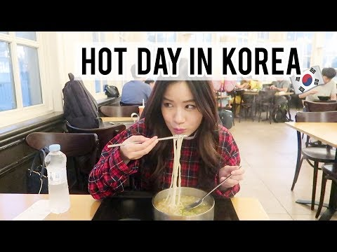 It was too hot :( | Korean Theme Park Day!