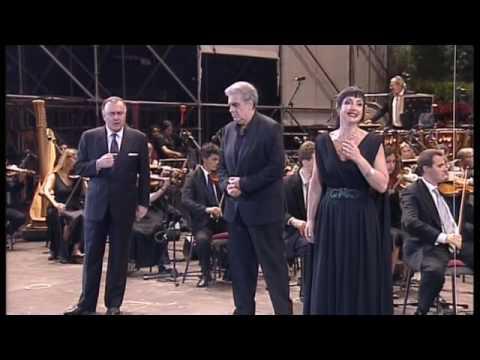 Valayre, Domingo, De Grandis - finale NORMA (Arena di Verona)