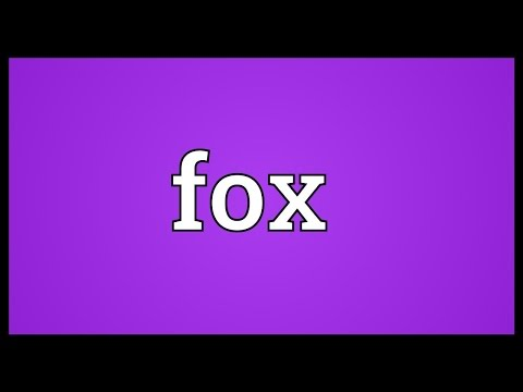 Fox Meaning