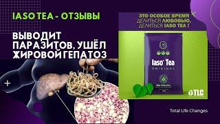 Чай Iaso Tea от TLC Отзывы Очищение Выводит паразитов Ушёл жировой гепатоз