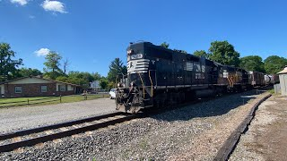 HiDef: Norfolk Southern C29 At The Greenville Railroad Park and Museum!-(6/30/2020!)