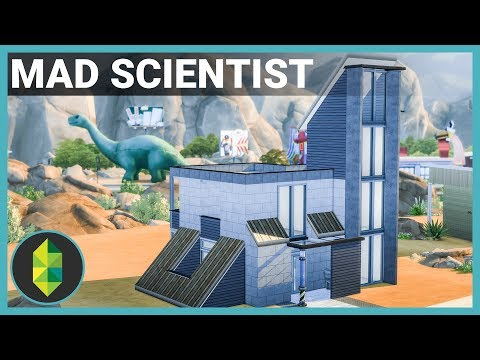 MAD SCIENTIST HOUSE - The Sims 4 House Build