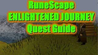runescape enlightened journey quest guide