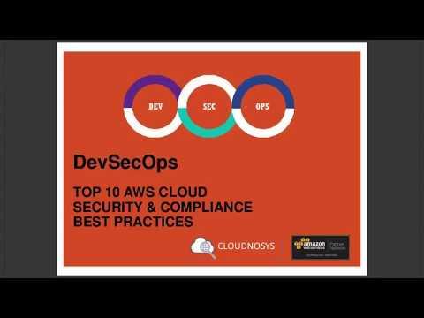 DevSecOps | AWS CLOUD Top 10 Best Practices