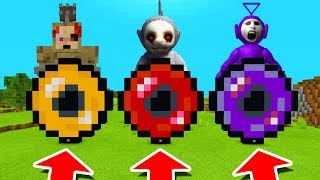 Minecraft PE : DO NOT CHOOSE THE ENDER PEARL! (Montes, Reaper & Tinky Winky Slendytubbies)