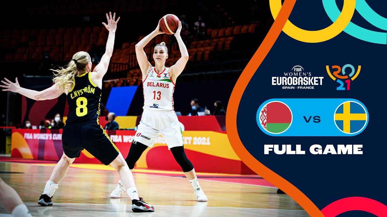 Belarus v Sweden   Full Game