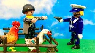 Ucieczka z więzienia  Zabawy Zabawkami z Playmobil  Bajki dla dzieci PO POLSKU