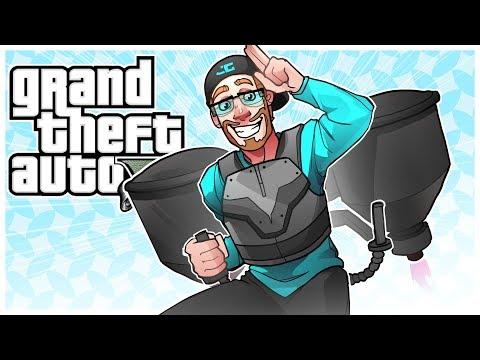GTA 5 Jetpack DLC! GTA 5 Dooms Day Heist Trailer Reaction! (GTA 5 DLC)