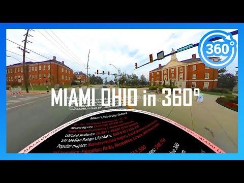 MIAMI UNIVERSITY IN OHIO In 360° (driving Campus Tour)