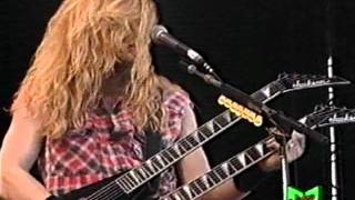 Megadeth - In My Darkest Hour (Live In Italy 1992)
