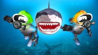Стрим про РОБЛОКС тайкун ШАРК охота на акулу #2 ● Братыня и ROBLOX