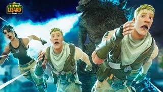 THE MONSTER ATTACKS!!! - Fortnite Season 9