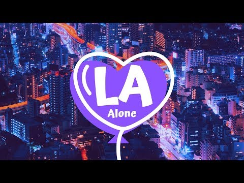 Alone. - LA (Official Audio Visualizer)
