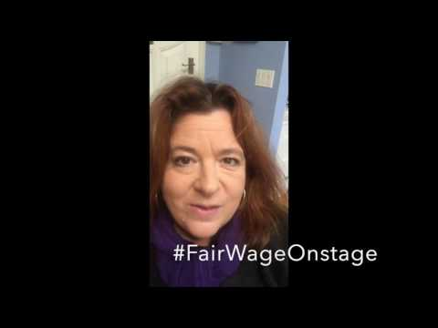 Theresa Rebeck #FairWageOnstage