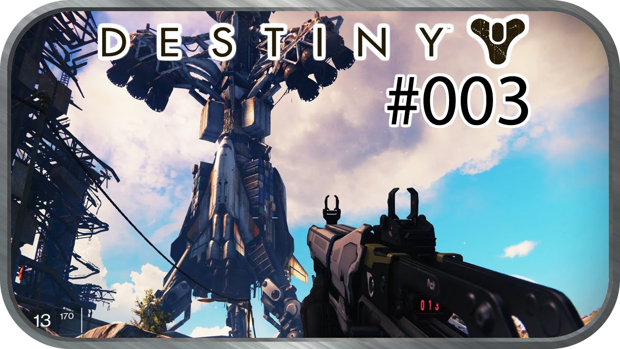 Destiny 03 cosmodrome ps4 60fps deutsch lets play youtube