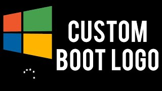 How To Change Windows 10's Boot Logo! (HackBGRT Tutorial)