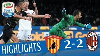 Benevento - Milan 2-2 - Highlights - Giornata 15 - Serie A TIM 2017/18