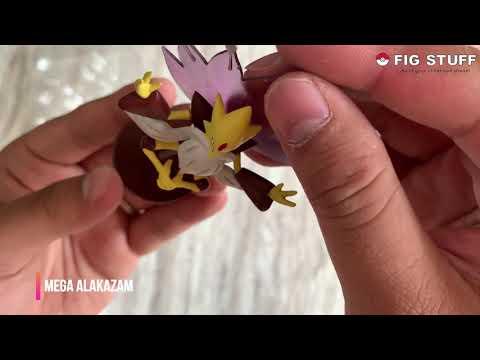 [Pokémon] [ ZUKAN 1/40] UNBOXING Zukan Mega Alakazam + Electrode + Blastoise  Line
